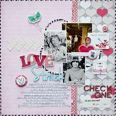 Love Struck, by Diane Payne, using the Lasting Love kit.