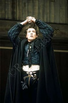 a young Sir Ian McKellen (spookily predicting Ben Whishaw?) as ROMEO at Stratford, 1976