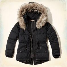 Girls Hollister Puffer Jacket | Girls Jackets & Coats | HollisterCo.com
