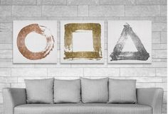 If your walls could talk, they'd be begging for these glam works of art. Indulge your inner fashionista with metallic designer logos or brighten your decor with an inspiring quote. Looking for the perfect finishing touch to your gallery wall? An abstract gold and silver canvas is a bold yet versatile pick.http://www.allmodern.com/deals-and-design-ideas/Art-That-Sparkles-%26-Shines~E17468.html?refid=SBP.DfAbCofE6E8oSqdIAjbTibheUMkdaU4VnmBGLyav664