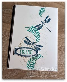 sweet friend card using Awesomely Artistic Stamp Set created by Leonie Schroder Independent Stampin' Up! Demonstrator Australia