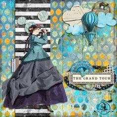 Art Journal Caravan 2013: The Grand Tour by ms.bailey, via Flickr