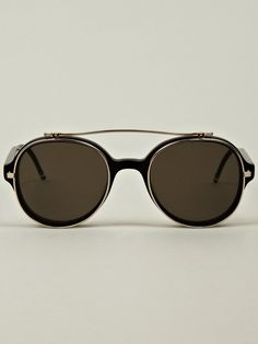 Love the Thom Browne Sunglasses on Wantering. 616ee122da3c