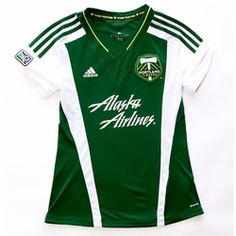 4c15c337f Portland Timbers Adidas Women s 2013-2014 Replica Primary Jersey - Green   95.00