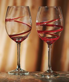 Rouge Wine Glass - Set of Two