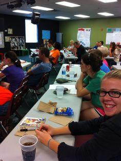 Ideas from Stonebriar Community Church's special needs ministry volunteer Training (August 2012)