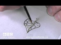 ▶ Metal Clay Gallery Bezel Wire: Using a Silhouette Cameo® Cutter by Wanaree Tanner - YouTube