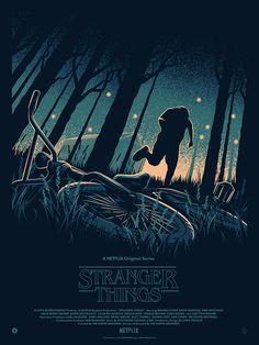 STRANGER THINGS #poster #strangerthings #art #fanart #design…