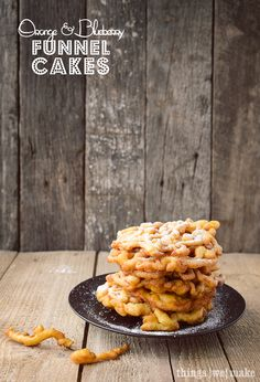 Funnel cake business plan