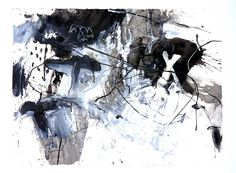 Hatobue (2012) Acrylic and charcoal on Arches 300g 560x760mm by mayakonakamura, via Flickr