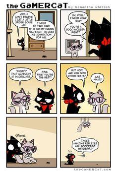 the GaMERCaT :: Spider Assist   Tapastic Comics - image 1