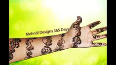 How to Make Bangle Mehandi Design, full hand mehndi designs step by step...