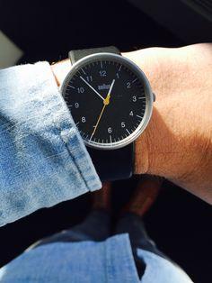 Braun herren armbanduhr bn0035bkgnbkg