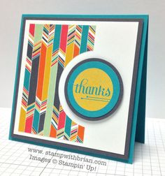 A Happy Hooray, Stampin' Up!, Brian King