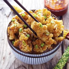 This might be one of my favorite ways to enjoy cauliflower. So easy to learn how to make Spicy Honey-Garlic Roasted Cauliflower.