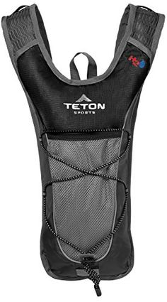 TETON Sports Trailrunner 2.0 Hydration Backpack, Black ---> MORE INFO @: http://www.best-outdoorgear.com/teton-sports-trailrunner-2-0-hydration-backpack-black/