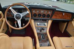 1974 Jensen Interceptor III Convertible dash and interior