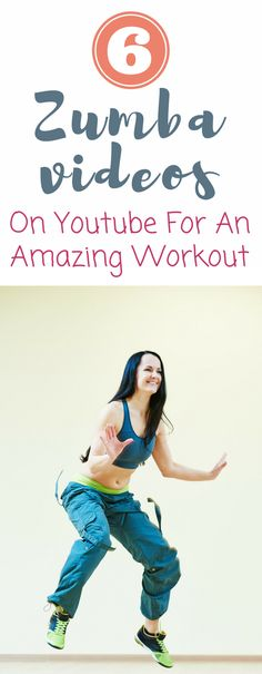 Zumba videos on youtube that will give you a great workout. Love these free zumba videos! And these zumba videos for beginners are great! Can't wait to try these zumba videos at home! #zumba