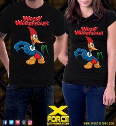 Camiseta Pica Pau Maluco Desenhos Clássicos