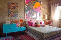 bohem dekorasyon yatak odası ile ilgili görsel sonucu