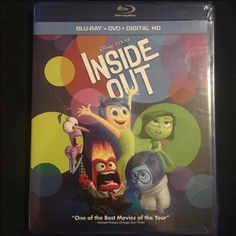 Inside Out Bluray/DVD/DHD UNOPENED - Mercari: Anyone can buy & sell