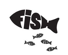 Image result for typography fish foodtruck