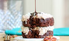 single serving german chocolate cake!