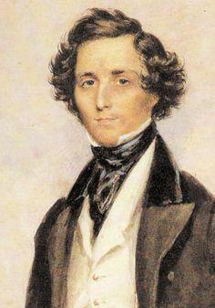Heineken was een huisvriend van de familie Mendelssohn Romantic Composers, Classical Music Composers, Romantic Period, Piano Songs, Piano Music, Piece Of Music, Midsummer Nights Dream, Portraits, Jolie Photo