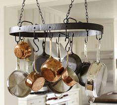 Vintage Blacksmith Pot Rack | Pottery Barn