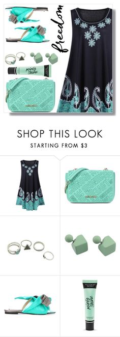 """""""Sunday morning"""" by simona-altobelli ❤ liked on Polyvore featuring Love Moschino, N°21 and Victoria's Secret"""