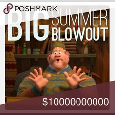 $7 SALE: BIG SUMMER BLOWOUT!!!  !! SELECT ITEMS $7 !! No trades, feel free to ask questions, please use the offer button if you would like to make one, & all sales are final. !! NEXT DAY SHIPPING !!  * Big Summer Blowout, $7 Sale, While Supplies Last * Other