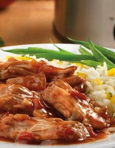 Hawaiian Pork — It doesn't get much easier than this recipe—slow cooker-prepped in just 5 minutes!