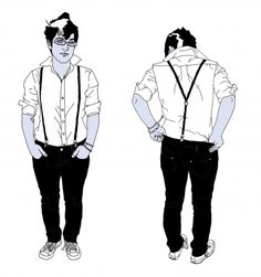 Make your own suspenders!