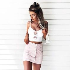 Pink Skirt #pink #skirt #croptop #sunglasses #tumblr #aesthetic #jewelry #hair #ootd #outfit #outfits #outfitoftheday #luxury #luxurylife #photography #highfashion #fashion #style #streetstyle #streetfashion #model #models #kendalljenner #gigihadid #gucci #paris #pastel http://butimag.com/ipost/1513087268322215815/?code=BT_kNqWgweH