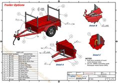box trailer plans www.trailerplans.com.au