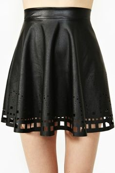 Clean Cut Skater Skirt