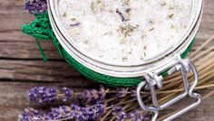 DIY Lavender Bath Salts
