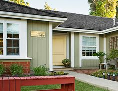 Ranch House Paint Color Exterior Ranch Style House Exterior Paint - Exterior house colors for ranch style homes