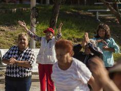 El adulto mayor y los espacios públicos