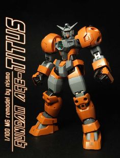 MG 1/100 Gundam AGE-1 Titus: Modeled by nismo.
