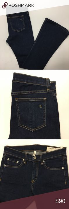 Rag and Bone jeans high rise bell The perfect pair of jeans for the fall days ahead. rag & bone Jeans