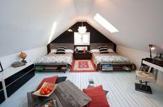 quarto sótão-adolescente