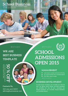 Kids Education Flyer #Kids, #Education, #Flyer