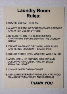 Laundromat Checklist The Soap Scoop Laundry Laundry