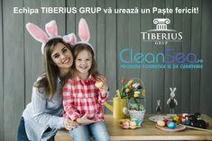 🐇 Echipa CleanSea.ro şi Tiberius Grup urează tuturor clienţilor, colaboratorilor şi partenerilor un Paşte Fericit! ☺️