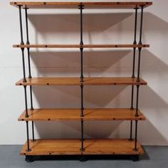 Industrial Iron Pipe Storage Shelf by Joshua Ingold