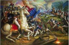 The Haitian Revolution by Artist Ulirk Jean-Pierre's Paintings Haitian Men, Haitian Flag, Elizabeth Ii, Art Haïtien, Haitian Independence Day, Haiti History, Haitian Revolution, Coat Of Arms, Martin Luther King Day