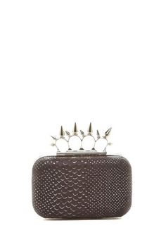 Spiked 4-Ring Clutch