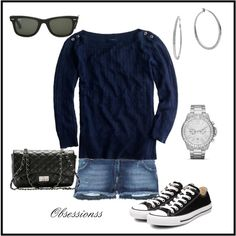 Navy, created by obsessionss on Polyvore