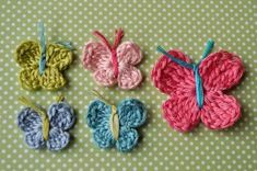 Yarn is a flutterin' with these Crochet Butterflies we're featuring for our Crochet-A-Day series. These cute little butterflies are found over at Little Birdie Secrets! There are 3 different sizes to crochet, small, medium, and large, so you'll have just... Continue Reading →